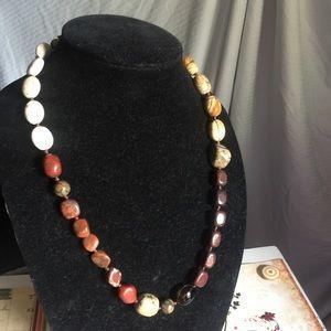 Jewelry - Handmade multiple gemstone necklace